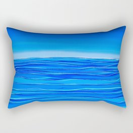 Always sea in the background ... Rectangular Pillow