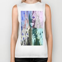 tokyo ghoul Biker Tanks featuring Ghoul by shannon's art space