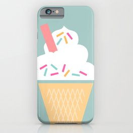 Ice Cream (Mint) iPhone Case