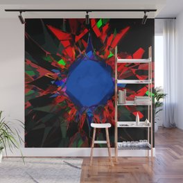 Diamond burst Wall Mural