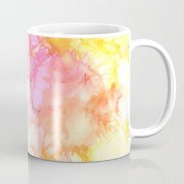 Pink and Yellow Abstract Coffee Mug