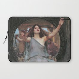 Circe Offering the Cup to Ulysses, John William Waterhouse Laptop Sleeve