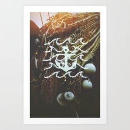 Anchors Away Art Print