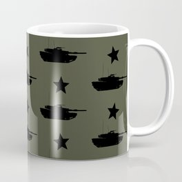 M1 Abrams Tank Pattern Coffee Mug