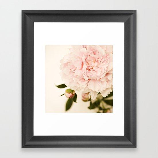 Peony No.1 Framed Art Print