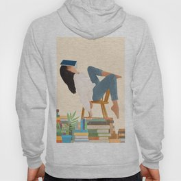 Lost in my books Hoody