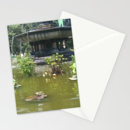 NYC Central park Bethesda fountain Stationery Cards