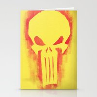 punisher Stationery Cards featuring Punisher by irvpaj