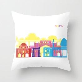 Shiraz skyline pop Throw Pillow