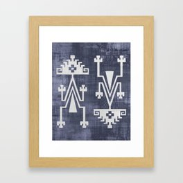 Chilean Tribal Framed Art Print