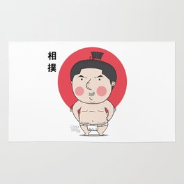 Cute Sumo Rug