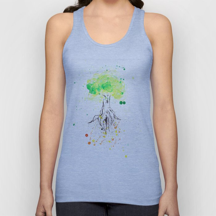 Rooted in Everything Unisex Tank Top