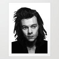 Harry Styles - One Direction Art Print