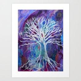 Gaia Tree Art Print