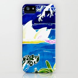 Sydney Opera House    AUSTRALIA                 by Kay Lipton iPhone Case