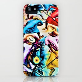 """African American Classical Masterpiece """"Old Man's Cotton"""" by Hale Woodruff iPhone Case"""