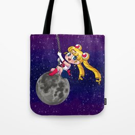 Sailor Moon Wrecking Ball Tote Bag