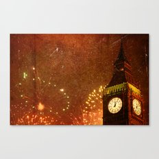 New Year Celebrations! Canvas Print