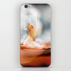 Art hold iPhone & iPod Skin