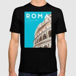 Rome, Italy Colosseum / Roma Il Colosseo, Italia Travel Poster T-shirt