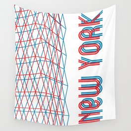 New York City pattern Wall Tapestry