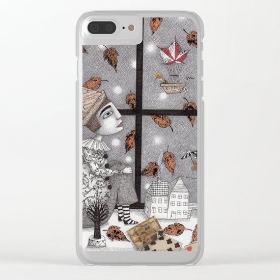 Twilight Hour Clear iPhone Case