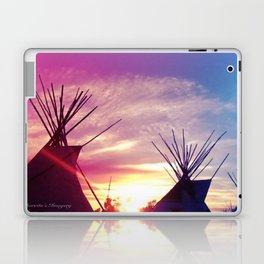 Sunset Tipi Laptop & iPad Skin