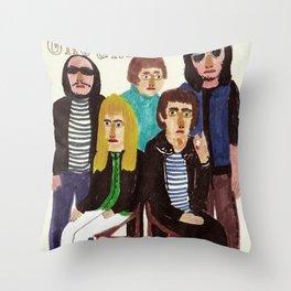 The Velvet Underground Throw Pillow