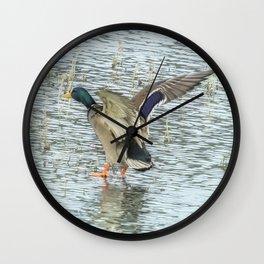 Walking on Water Wall Clock