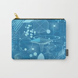 Science Schemes Pattern Carry-All Pouch