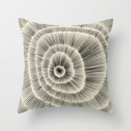 Hand Drawn Patterned Abstract III Throw Pillow