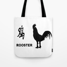 Chinese Year Of The Rooster Tote Bag