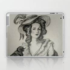French Sketch IV Laptop & iPad Skin