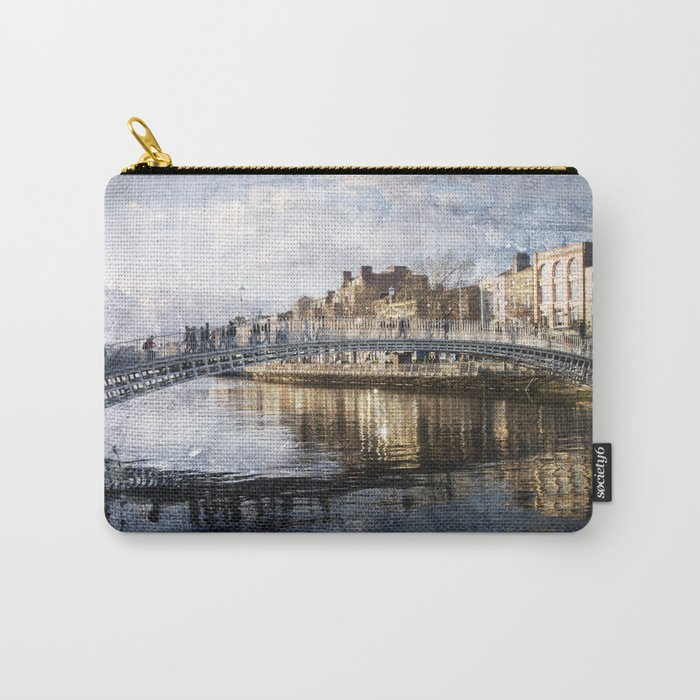 Ha'PPeny Bridge Carry-All Pouch