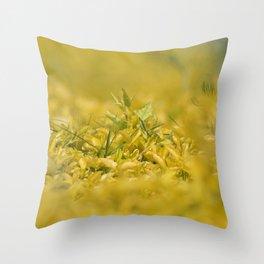 Yellow, Yellow, Super Fellow Throw Pillow