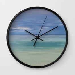 Lake Superior Blues Wall Clock