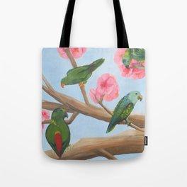 A Parrot's Paradise Tote Bag