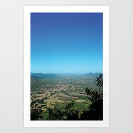 Eungella Mountain 14/15 Art Print