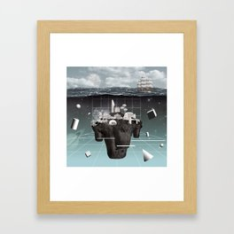 Utopia//Eutopia Framed Art Print