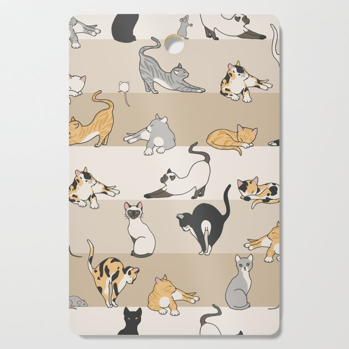 Cat & Mouse Cutting Board