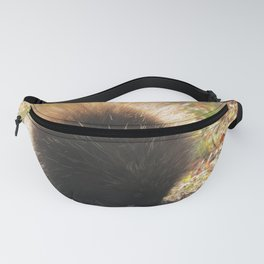 Porcupine Looking Glamorous in the Sun's Rays Fanny Pack
