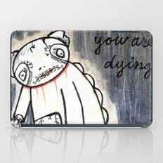 panda's dying iPad Case
