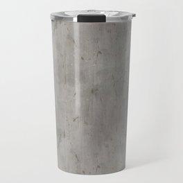 Dirty Bare Concrete Travel Mug