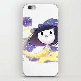 Zoomed Into Shooting Star iPhone Skin