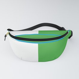 Team Colors 6....Green,light blue Fanny Pack