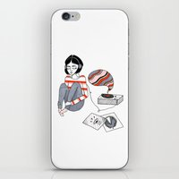 records iPhone & iPod Skins featuring records by Bunny Miele