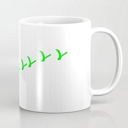 V wie Vegan   (A7 B0076) Coffee Mug