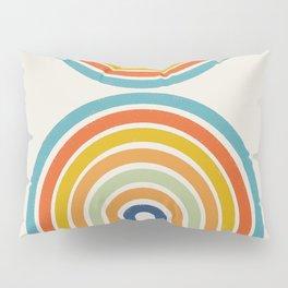 Arch Shape, Rainbow  Pillow Sham