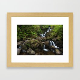 Torc Waterfall,Killarney Framed Art Print