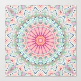 Mandala pastel no. 5 Canvas Print